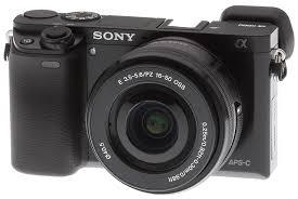 cámara fotográfica sony a6000